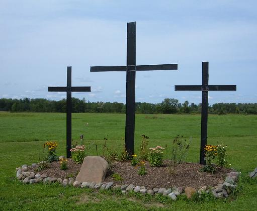 Crosses on Carter Road Property